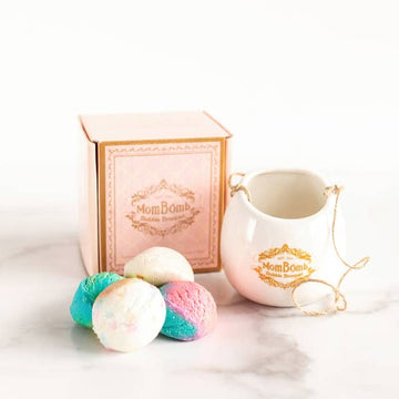 bubble bouquet gift set - Pink and Brown Boutique