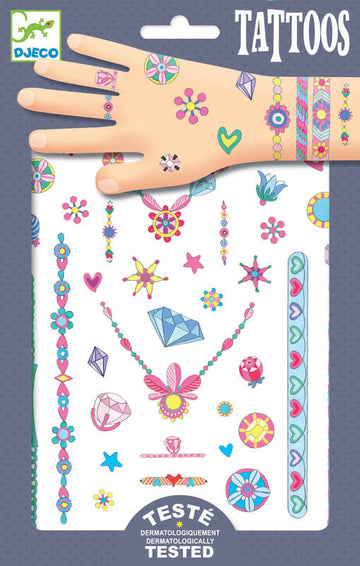 Tattoos jewels - Pink and Brown Boutique