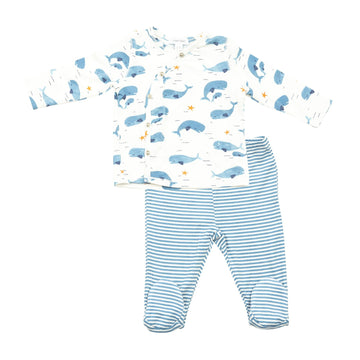 baby whale take me home set - Pink and Brown Boutique