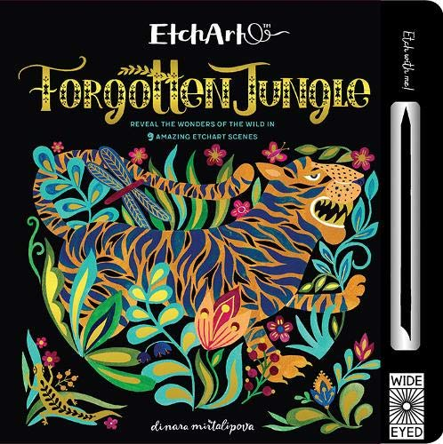 forgotten jungle etch art - Pink and Brown Boutique
