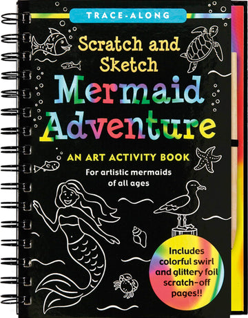 mermaid adventure scratch and sketch - Pink and Brown Boutique