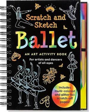 ballet scratch and sketch - Pink and Brown Boutique