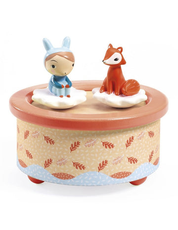 fox melody music box - Pink and Brown Boutique