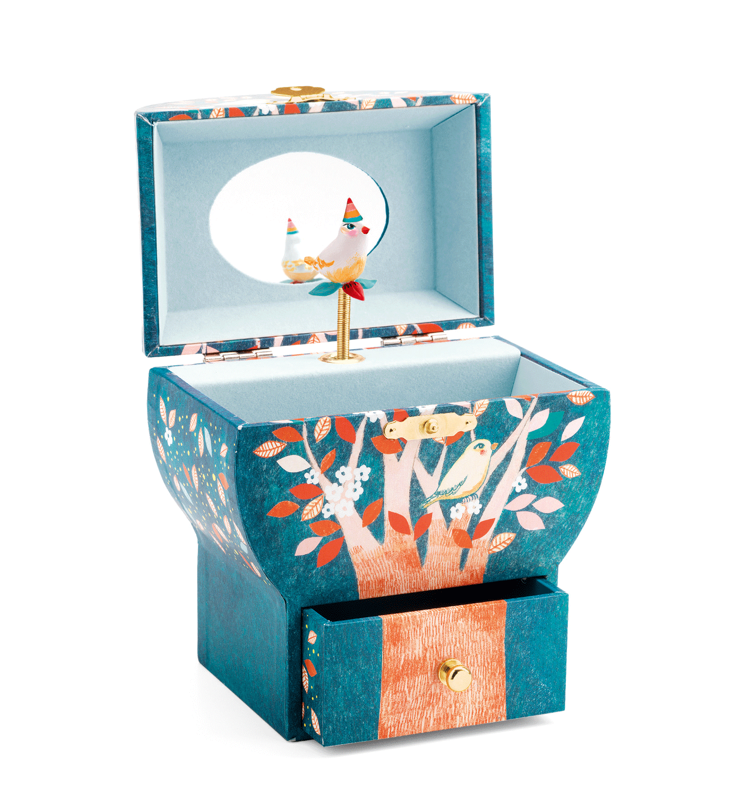 singing bird musical box - Pink and Brown Boutique