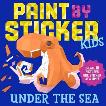 paint by sticker under the sea - Pink and Brown Boutique