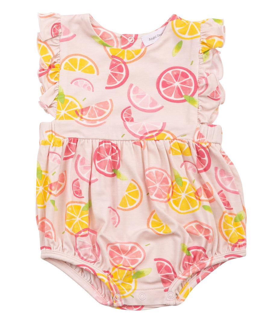 citrus sunsuit bamboo - Pink and Brown Boutique