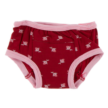 training pants in rosebuds - Pink and Brown Boutique