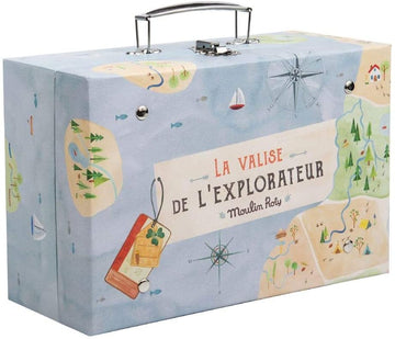 la valise de l'explorateur - Pink and Brown Boutique