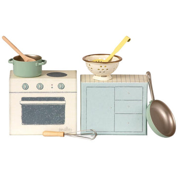 cooking set - Pink and Brown Boutique