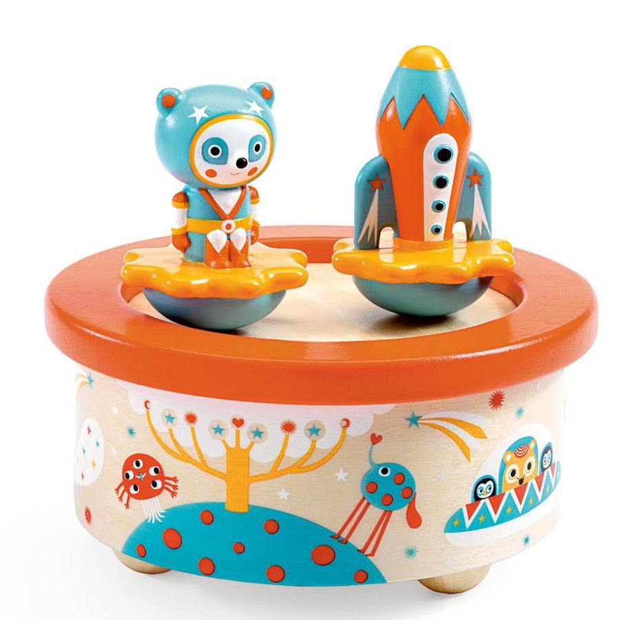 space melody music box - Pink and Brown Boutique
