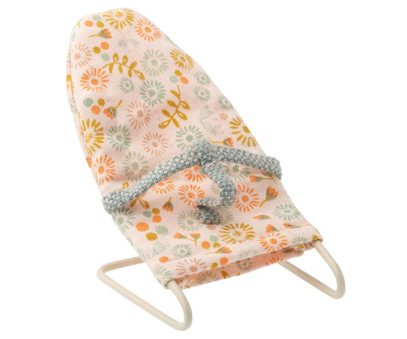 baby bouncer - Pink and Brown Boutique