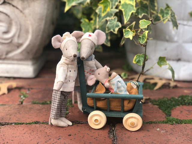 mum, dad, and baby mouse set - Pink and Brown Boutique