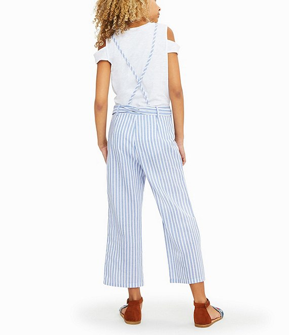 stripe overall jumpsuit - Pink and Brown Boutique