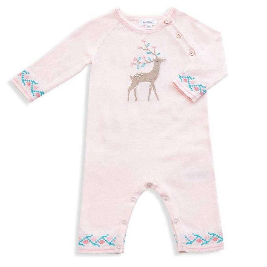 pink deer coverall - Pink and Brown Boutique