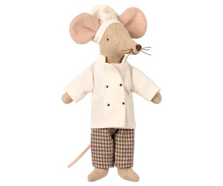 chef Mouse - Pink and Brown Boutique