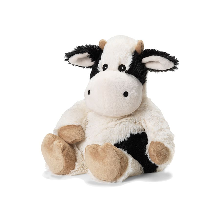 Lavender Animal in Black & White Cow - Pink and Brown Boutique