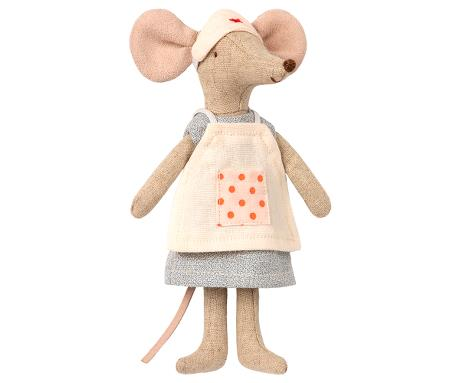 Nurse Mouse - Pink and Brown Boutique