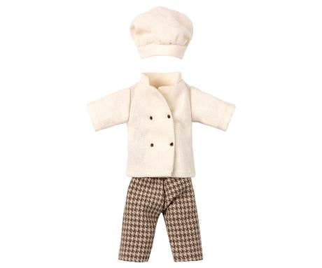 chef clothes for mouse - Pink and Brown Boutique