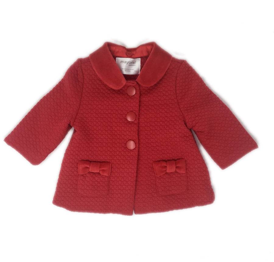 Quilted Jacket in Red - Pink and Brown Boutique