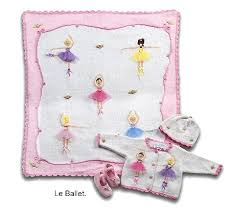 Ballerina Blanket - Pink and Brown Boutique