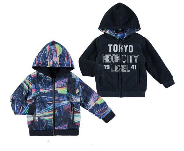 Tokyo Hooded Jacket - Pink and Brown Boutique