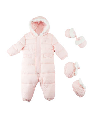 Snowsuit with Faux Fur Lining