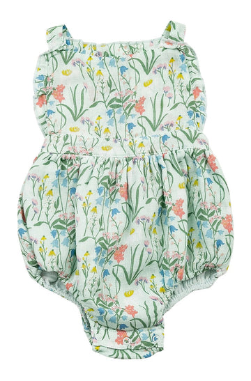 summer bubble sunsuit - Pink and Brown Boutique