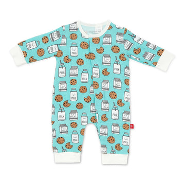 milk & cookie magnetic coverall