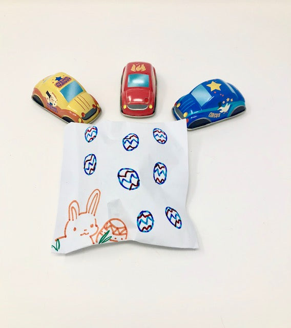 pull back tin cars - Pink and Brown Boutique