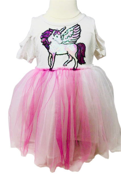 unicorn rainbow dress - Pink and Brown Boutique