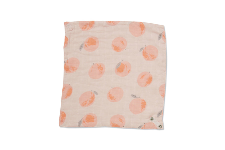 peachy bandana bib - Pink and Brown Boutique
