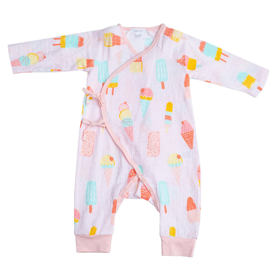 cool sweet kimono coverall - Pink and Brown Boutique