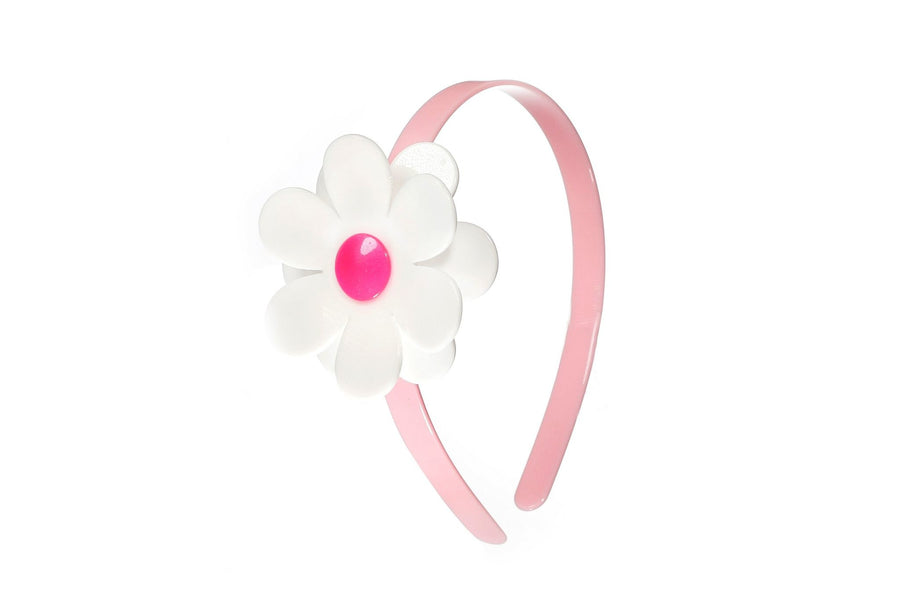 daisy headband - Pink and Brown Boutique