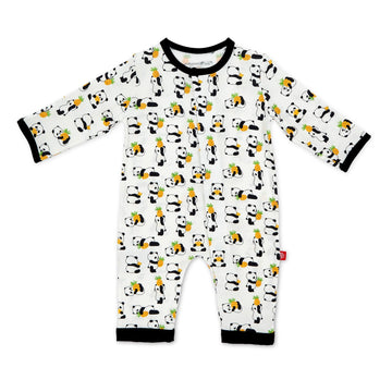 pineapple panda magnetic coverall