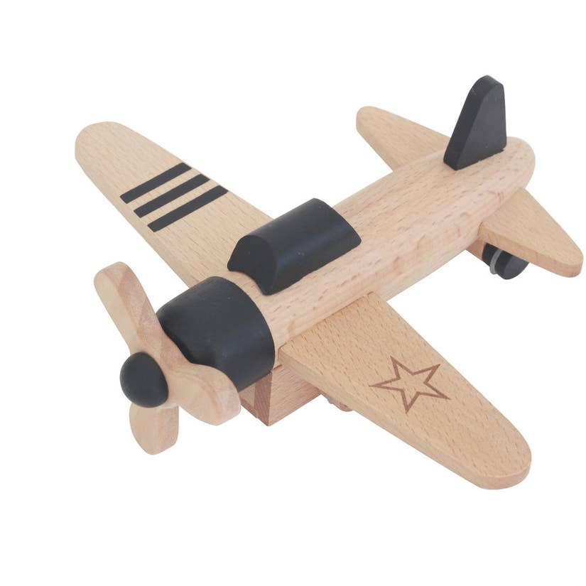 pull-back propeller plane - Pink and Brown Boutique