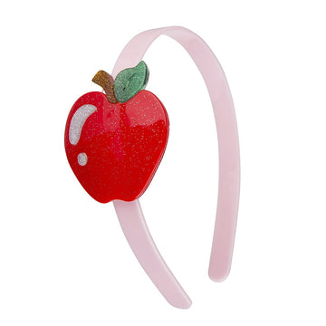 red apple headband - Pink and Brown Boutique