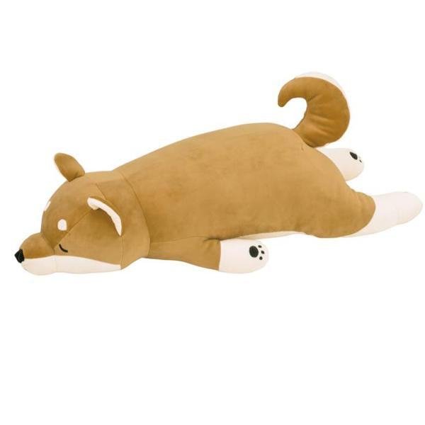 shiba dog body pillow large - Pink and Brown Boutique