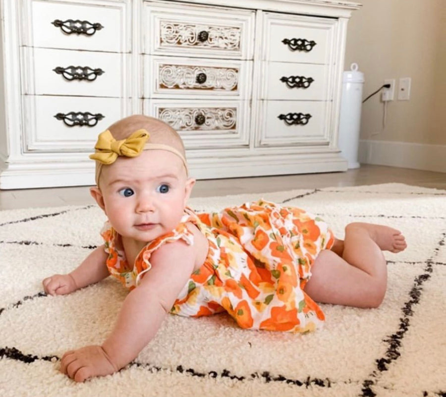 poppy dress and diaper cover - Pink and Brown Boutique