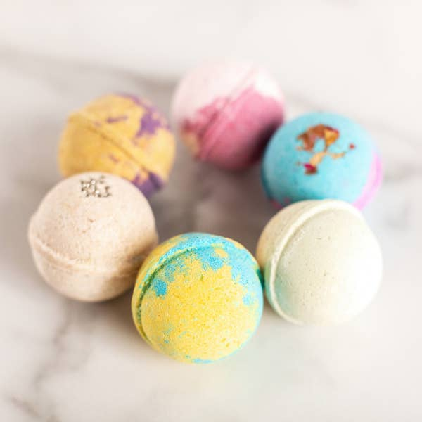 bath bomb gift set - Pink and Brown Boutique