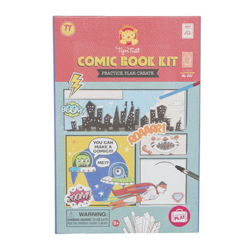 comic book kit - Pink and Brown Boutique