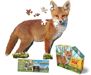 I am fox puzzle - Pink and Brown Boutique