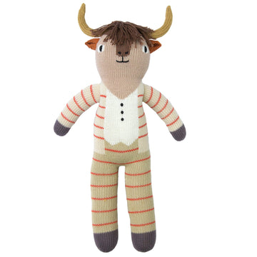 pablo the longhorn - Pink and Brown Boutique