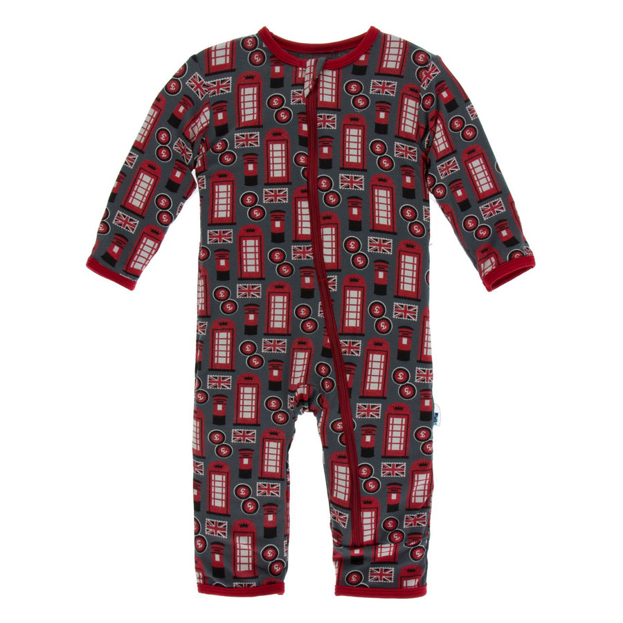 life about town zipper coverall - Pink and Brown Boutique