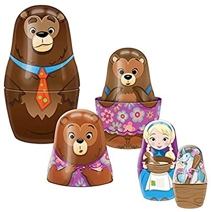 goldilocks and the three bears - Pink and Brown Boutique