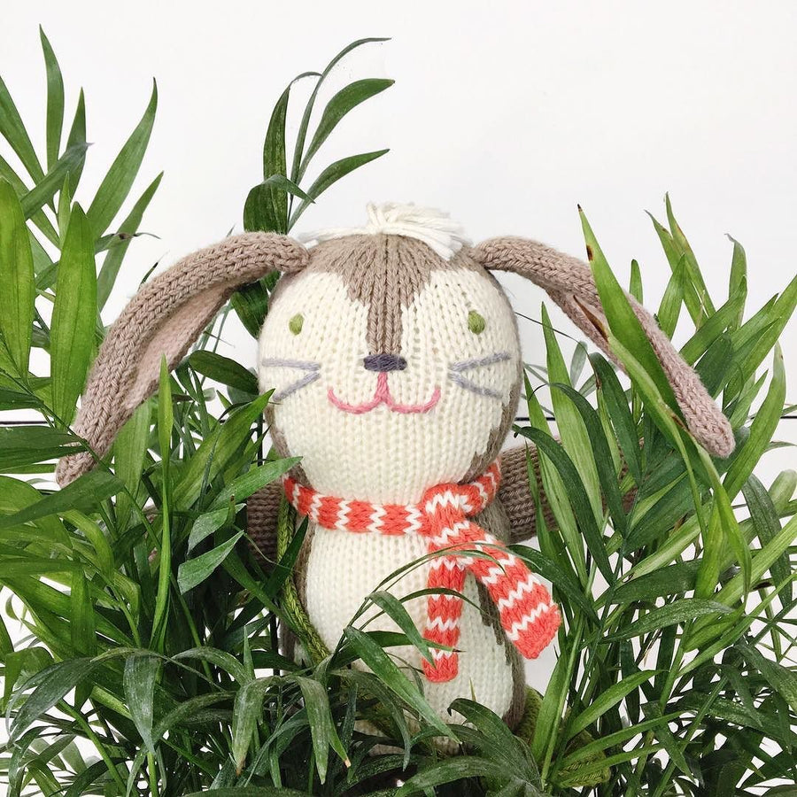pierre the bunny - Pink and Brown Boutique