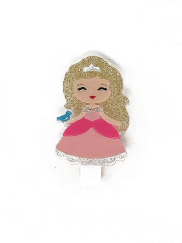 cute princess hair clip - Pink and Brown Boutique