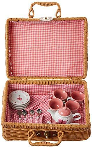 butterfly tea set - Pink and Brown Boutique