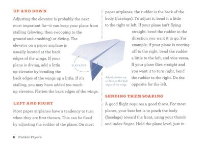 pocket flyers paper airplane book - Pink and Brown Boutique