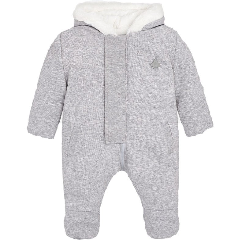 Pramsuit in Grey - Pink and Brown Boutique