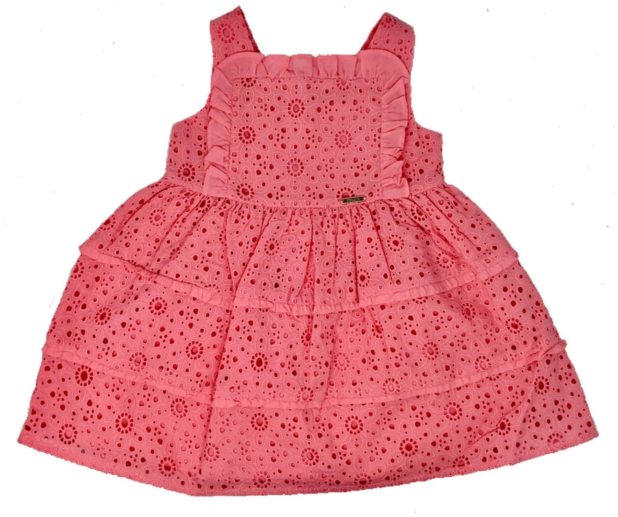 bubble gum lace dress - Pink and Brown Boutique